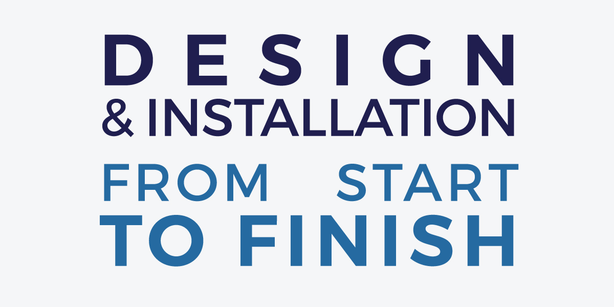 New Vision Architectural Glazing's design and installation from start to finish